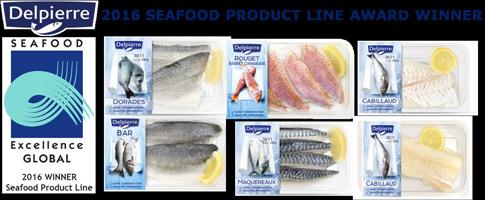 Delpierre : 2016 seafood product line award winner