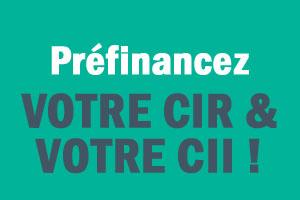 Webinaire préfinancez votre CIR et votre CII