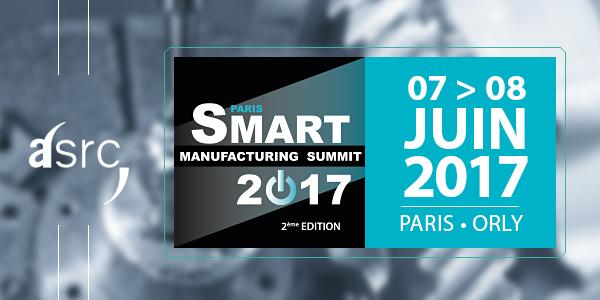 ASRC au Smart Manufacturing Summit 2017
