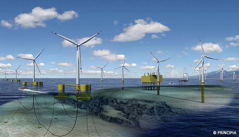 Principia - Monitoring parc éolien offshore